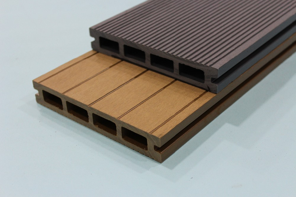 Engineered WPC Composite Decking, Solid Waterproof WPC Decking, Wooden Laminated Flooring
