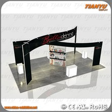 New Hot Selling Cosmetic Nail Polish Exhibition Booth 20x20ft Modular Advertising Equipment