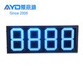 Hotcake REGULAR Blue Color 4 Digits 7 Segment Electronics Scoreboard Wireless Gas Station LED Price Sign LED Open Sign