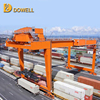 RMG model competive price movable Rail Mounted double girder container gantry crane