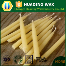 Top quality honey beeswax candle