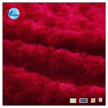 100% Polyester PV Knitted Plush Fabric for Buy Toy Fabric From China
