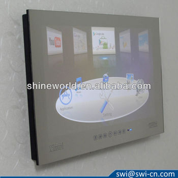22 inch Android Shower Mirror waterproof TV
