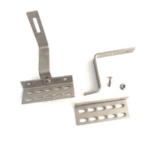 Stainless steel tile and tin roof hook of solar mounting system for solar panel installation solar pv brackets