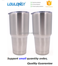 30 oz wide mouth stainless steel insulated vacuum beer tumbler