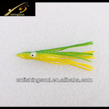 SLL047 Soft Octopus Baits, New Fishing Lure for 2014