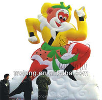 2014 pvc inflatable christmas cartoon / inflatable advertisement on sale !!!