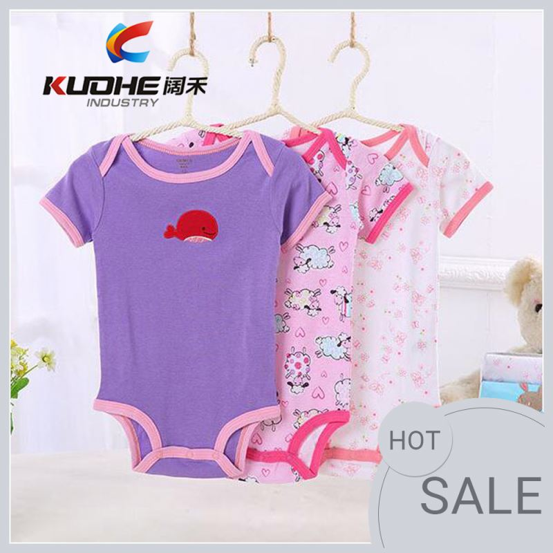 Babies Newborn Baby Clothes Bodysuit Adorable Infant Rompers In Stock