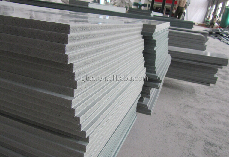 Trade assurance eco friendly wpc foam board construction for Foam form concrete construction