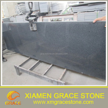 Chinese Supplier polished G654 dark black granite small slab small flower