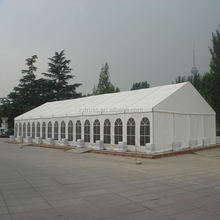 most popular 850g Sun Block PVC 6*12M wedding party tent