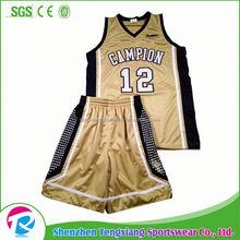 Latest Free Sample Basketball Uniform Design, Latest Free Sample ...