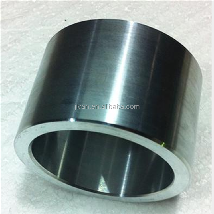 Factory supplied drawing customized harden stainless steel bushings metal sleeve bushing