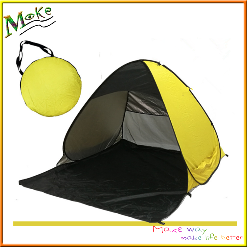 Anti UV beach tent shelter outdoor pop up portable cabana 1-2 person quick automatic opening UV-protections camping tent