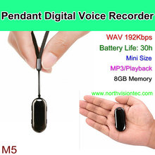 mini size portable voice recorder with 8GB memory