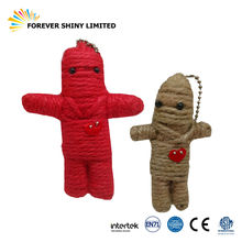 Novelty Promotional Jouet Small Capsule Halloween Scary Mummy Zombie String Doll for Vending Machine
