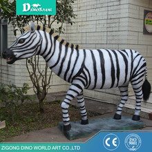 Zoo Alive Fiberglass Model Of A Zebra