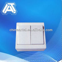 home electrical lamp modular shape wall switch,european type switch