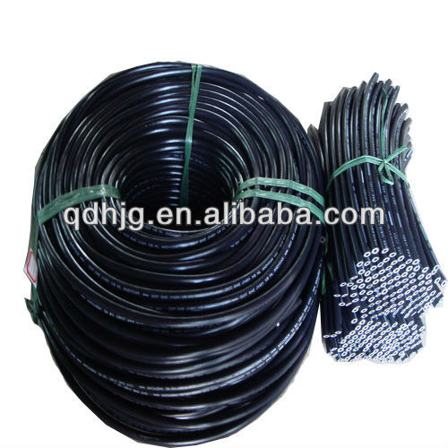 "DOT Certified FMVSS 106 & SAE J1401 <strong>1</strong>/8"" HL automotive hydraulic rubber brake hose"