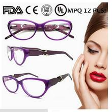 2015 hotsell women men eco friendly wood eyeglass frames with spring hinge