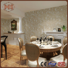 MSYD pure color and European type Non woven Wallpapers/home decoration wall covering