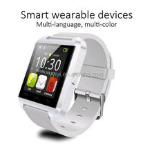(2016 Hot) Big Promotions Wholesale BT Smart Watch U8 with Mult Funtions, U8 Smart Watch for Smartphone Multi Languages