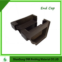 PVC Factory gutter fittings cheap gutter Popular Plastic fittings Rain Water Gutter best price