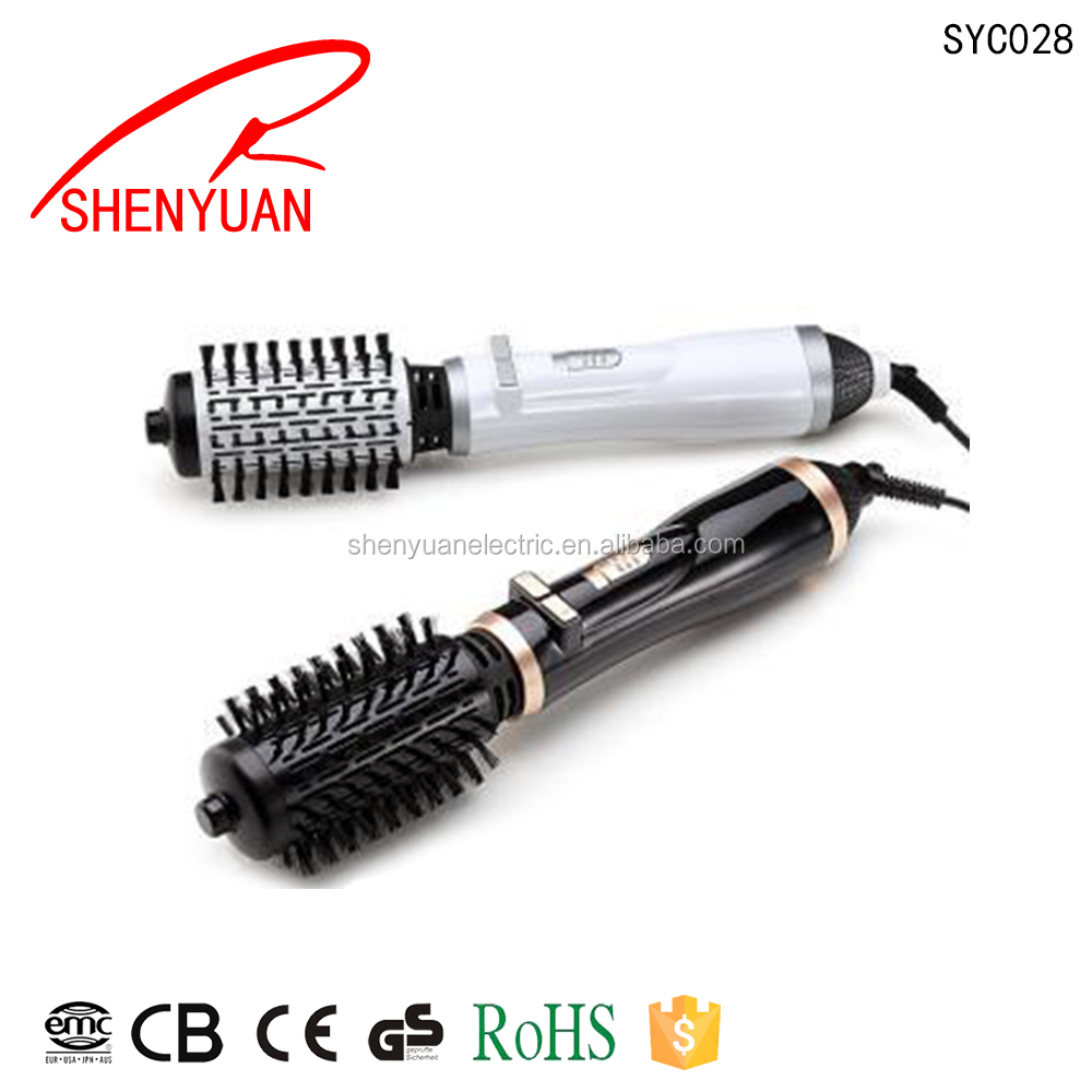 Goody Fancy Hair Brush Rotator Curler Iron Electric Hair Brush