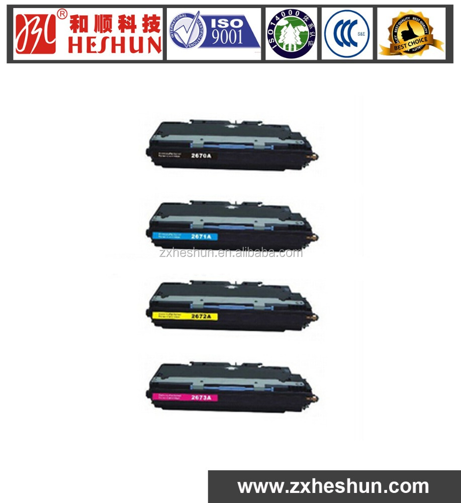 premium quality color toner cartridge Q2680-2683 for HP Color LaserJet 3500/3700