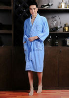 Promotion cheap sales price men and women's Bathrobes,cotton material, different colors choice Free size only. Unsex design