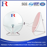 triangle base satellite dish tv antenna