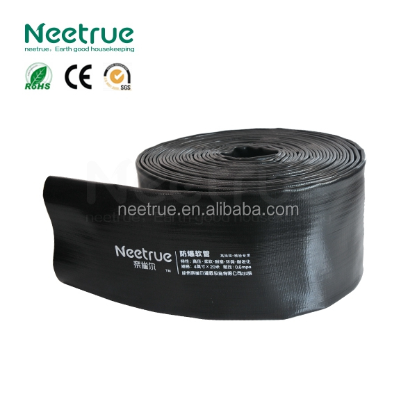 1-10 inch PVC black color water pipe