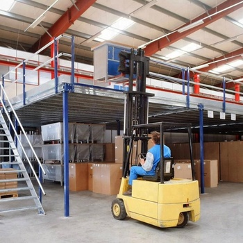 Warehouse Multi-level Warehouse Storage Mezzanine Floor Steel Platform