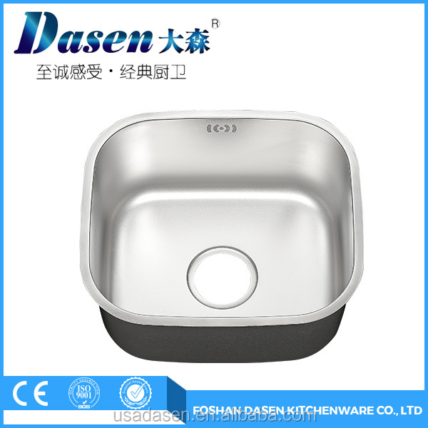 SS 304 kitchen washing sink hot sale in Canton Fair(DS-4136A)