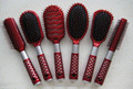 OEM personalized red hairbrush made in China