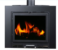 carbon steel wood burning fireplaces