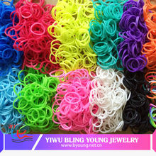 2016 crazy fluorescent rubber bands BY041209