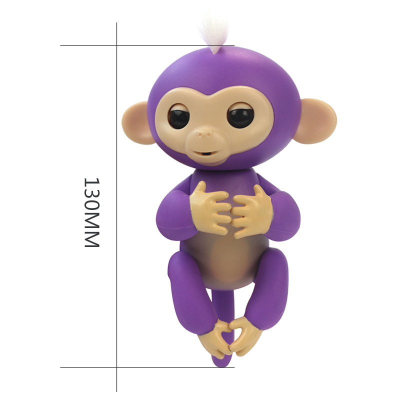 Fidget touch electronic monkey fingerlings baby finger ling monkey toy