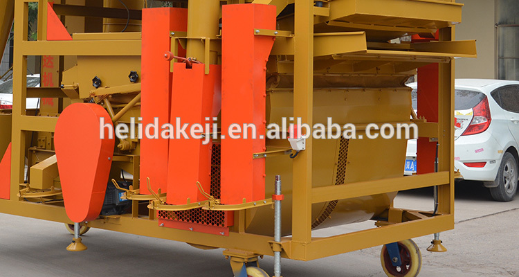 high efficiency combine corn cotton flax seed fine vibrating cleaner machine