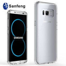 Scratch-Resistant Crystal Clear Back Soft TPU Cell Phone Cover Case for Samsung Galaxy S8 Dream