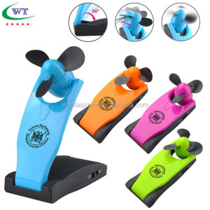 Promotional Portable Battery Operated Foldable Mini Handheld And Table Fan