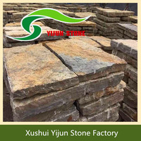 High Quality Yellow Outdoor Non-slip Paving Driveway Bricks For Sale