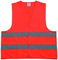 Hot sale small MOQ hi vis vest in 100% Polyester colorful reflective safety vest with EN20471