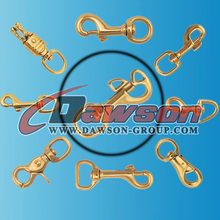 "5/8"",1"" Brass Halter Snap Hook in High Quality"