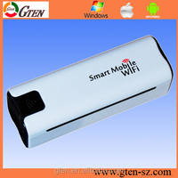 2015 low price WCDMA Power Bank with Sim Card Slot 3g mini usb openwrt wifi router