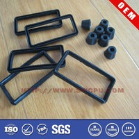 Customized Protective Non-slip 2 Inches Rubber Feet for Furniture
