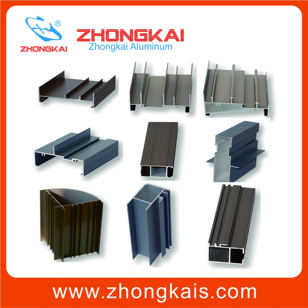 Extrusion Aluminum Profile Materials used to make window frames