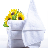 100% Cotton Customized Luxury Embroider Bath Towel Sets Luxury Hotel Satin Fabric Plain Commercial Cotton White Bath Towels