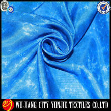 100% polyester plain fabric/yarn dyed plain shirting fabric