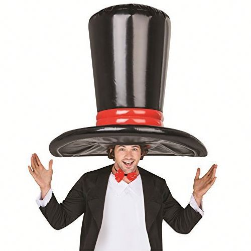 Giant Inflatable Traditonal Black Top Hat Toys